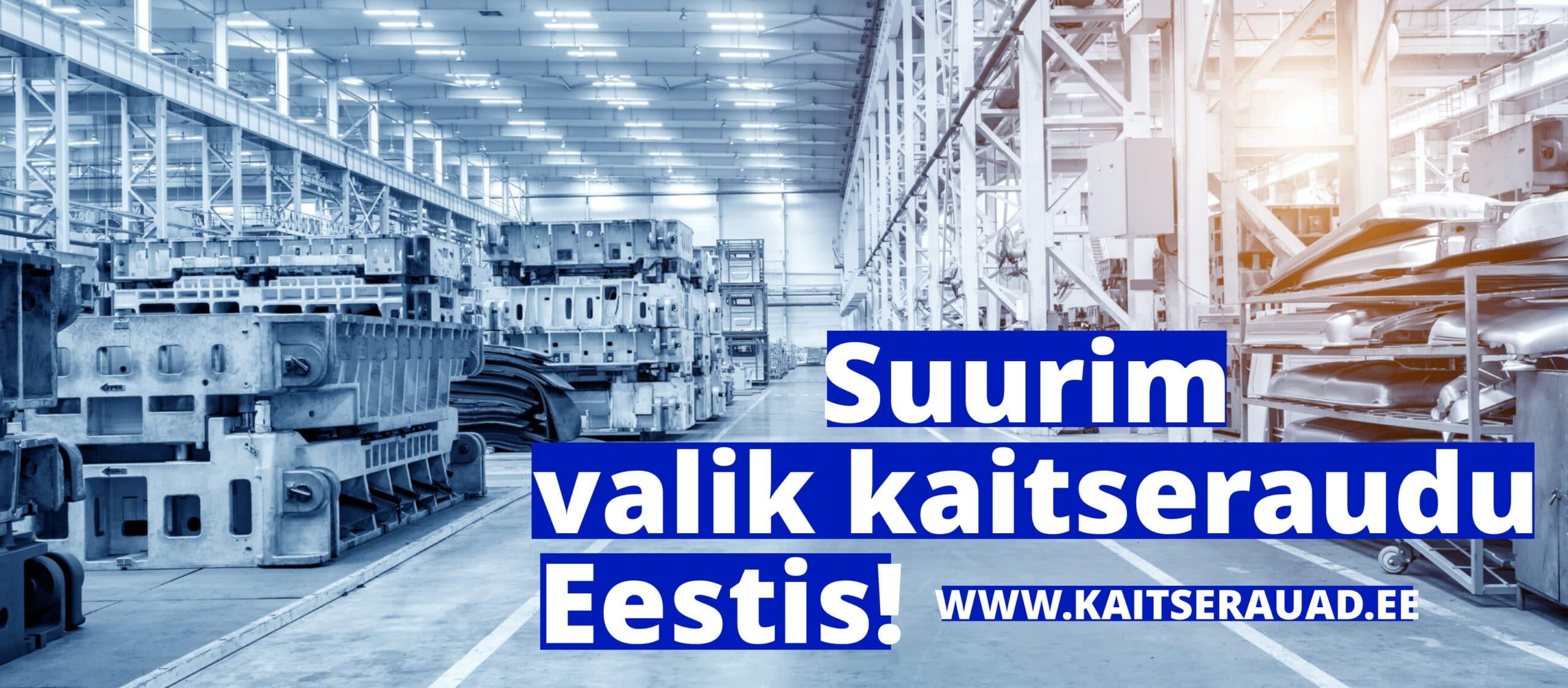 Suurim valik kaitseraudu Eestis - www.kaitserauad.ee